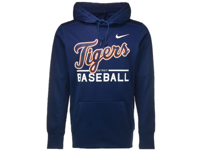 Detroit Tigers Nike MLB Men's GM Therma Hoodie