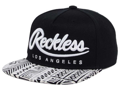 Young And Reckless Big R Script Zig-Zag Snapback Cap