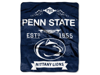 Penn State Nittany Lions 50x60in Plush Throw Team Spirit