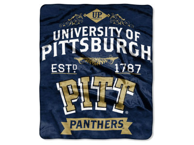 Pittsburgh Panthers 50x60in Plush Throw Team Spirit