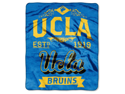 UCLA Bruins 50x60in Plush Throw Team Spirit