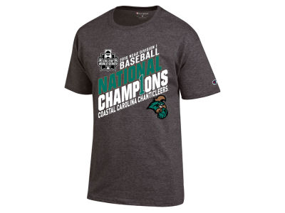 Coastal Carolina Chanticleers NCAA 2016 College World Series Champions Locker Room T-Shirt