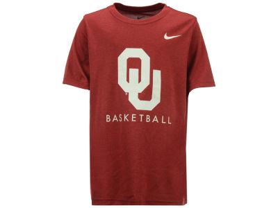 competitive price fac88 ed92c Oklahoma Sooners Nike NCAA Youth Basketball Legend Logo T-Shirt