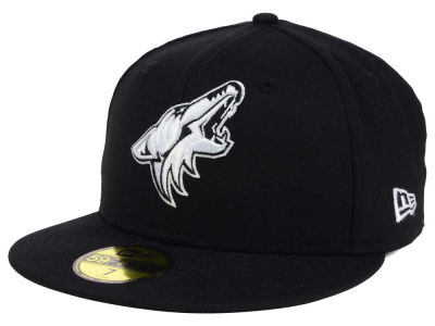 Arizona Coyotes New Era NHL Black Dub 59FIFTY Cap
