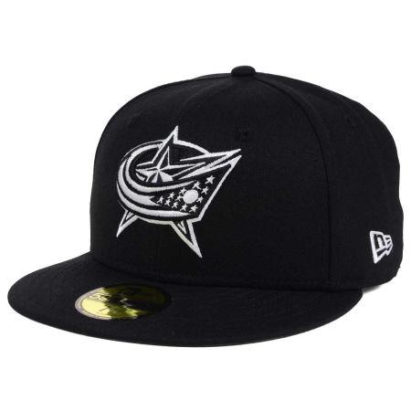 Columbus Blue Jackets New Era NHL Black Dub 59FIFTY Cap