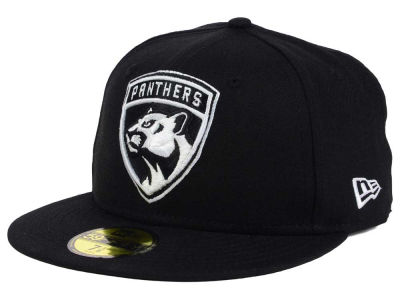 Florida Panthers New Era NHL Black Dub 59FIFTY Cap