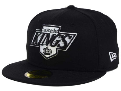 Los Angeles Kings New Era NHL Black Dub 59FIFTY Cap