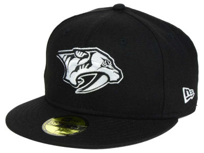 Nashville Predators New Era NHL Black Dub 59FIFTY Cap