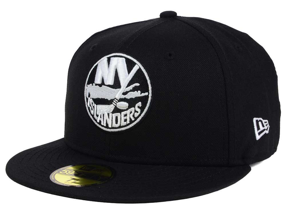 f0a7066bbcc New York Islanders New Era NHL Black Dub 59FIFTY Cap