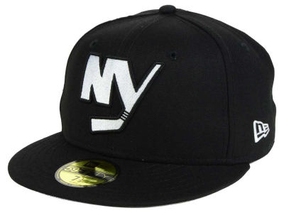 Chapeau de la copie 59FIFTY de noir de NHL