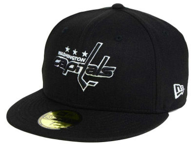 Washington Capitals New Era NHL Black Dub 59FIFTY Cap