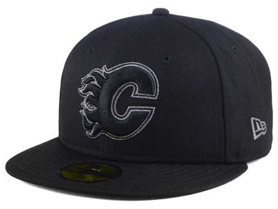 Calgary Flames New Era NHL Black Graph 59FIFTY Cap