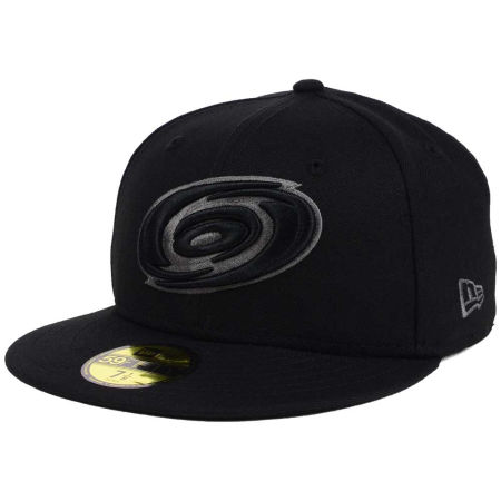 Carolina Hurricanes New Era NHL Black Graph 59FIFTY Cap