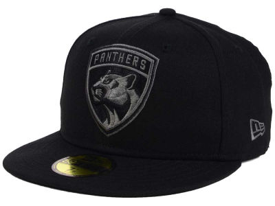 Florida Panthers New Era NHL Black Graph 59FIFTY Cap