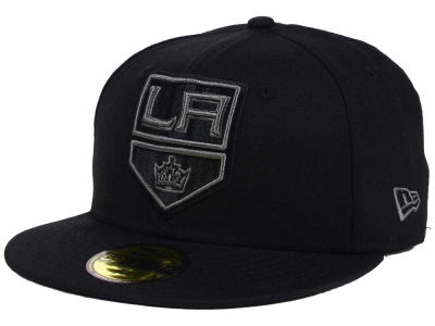 Los Angeles Kings New Era NHL Black Graph 59FIFTY Cap