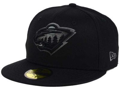 Minnesota Wild New Era NHL Black Graph 59FIFTY Cap