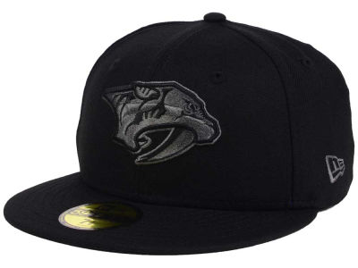 Nashville Predators New Era NHL Black Graph 59FIFTY Cap