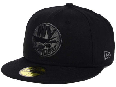 50ffef273a2 New York Islanders New Era NHL Black Graph 59FIFTY Cap