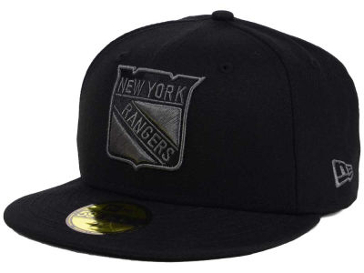 New York Rangers New Era NHL Black Graph 59FIFTY Cap
