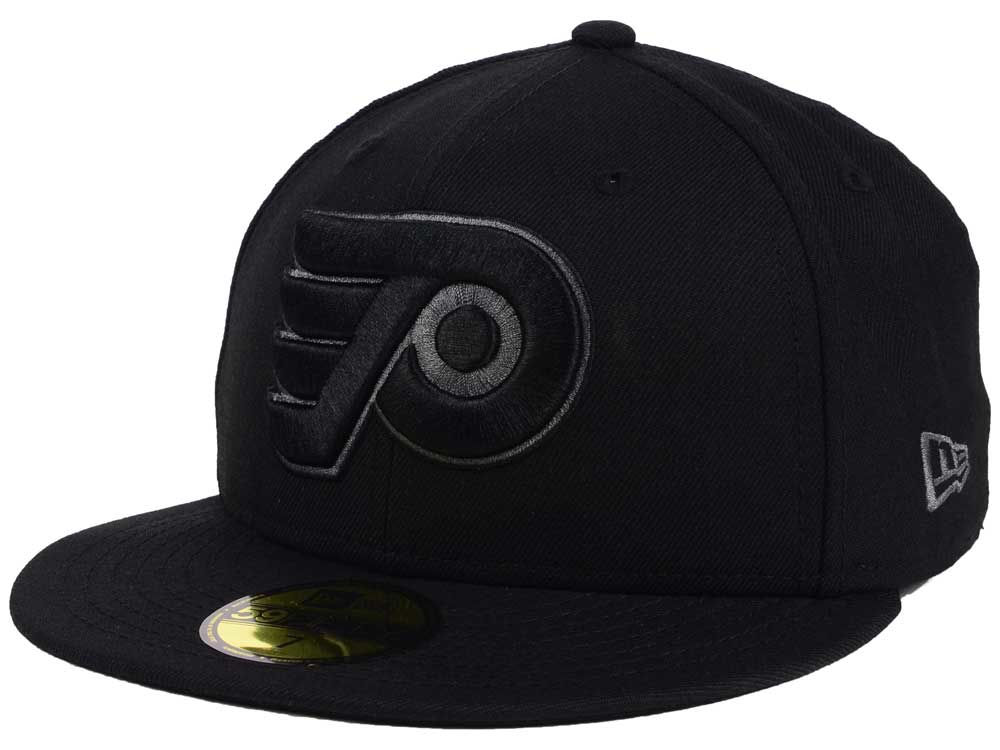 reputable site e890f 5fea4 wholesale philadelphia flyers new era nhl black graph 59fifty cap 093d8  cb683