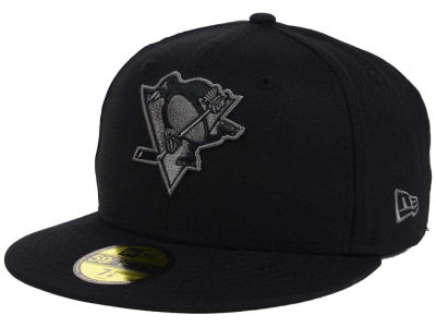 Pittsburgh Penguins New Era NHL Black Graph 59FIFTY Cap