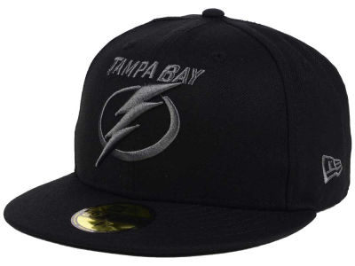 Tampa Bay Lightning New Era NHL Black Graph 59FIFTY Cap