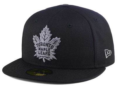 Toronto Maple Leafs New Era NHL Black Graph 59FIFTY Cap