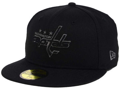 Washington Capitals New Era NHL Black Graph 59FIFTY Cap