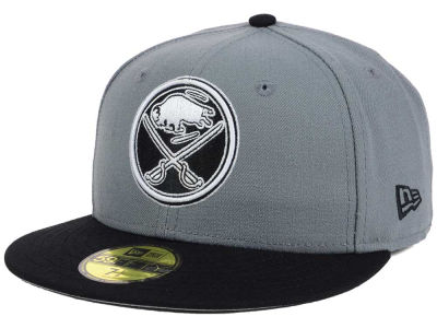 Buffalo Sabres New Era NHL Gray Black 59FIFTY Cap