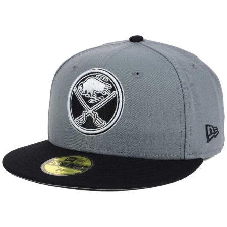 Buffalo Sabres New Era NHL Gray Black 59FIFTY Cap