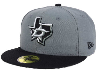 Dallas Stars New Era NHL Gray Black 59FIFTY Cap