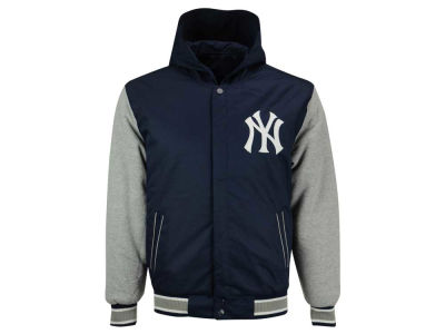 New York Yankees MLB Men's Twylon Reversible Jacket