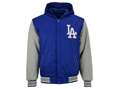 Los Angeles Dodgers MLB Men's Twylon Reversible Jacket