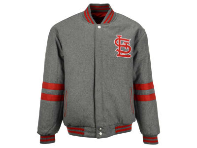 St. Louis Cardinals MLB Men's Wool Reversible Full Zip Jacket