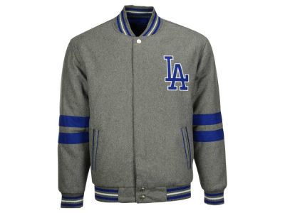 Los Angeles Dodgers MLB Men's Wool Reversible Full Zip Jacket