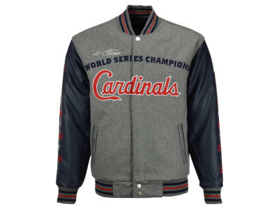 St. Louis Cardinals MLB Men's Reversible Commemorative Melton Jacket