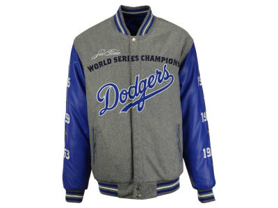 Los Angeles Dodgers MLB Men's Reversible Commemorative Melton Jacket