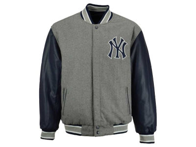 New York Yankees MLB Men's Wool Reversible Jacket