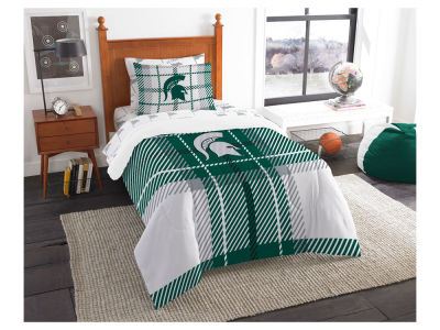Michigan State Spartans Twin Soft & Cozy Set