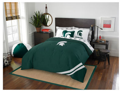Michigan State Spartans Full Bed Set