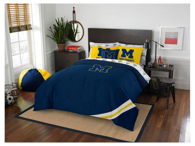 Michigan Wolverines Full Bed Set