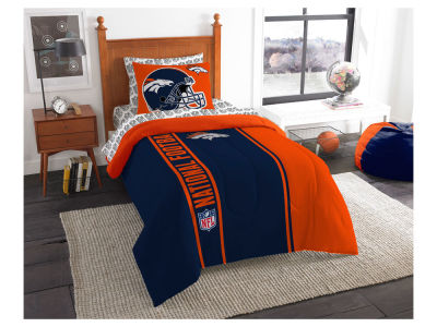 Denver Broncos Twin Soft & Cozy Set