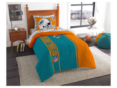 Miami Dolphins Twin Soft & Cozy Set