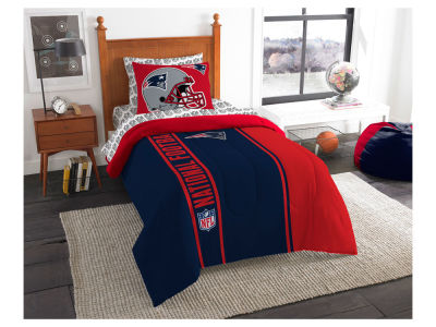 New England Patriots Twin Soft & Cozy Set