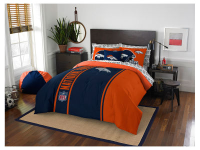 Denver Broncos Full Soft & Cozy Set