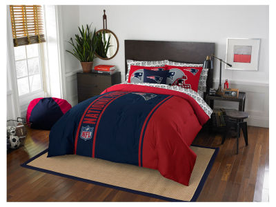 New England Patriots Full Soft & Cozy Set