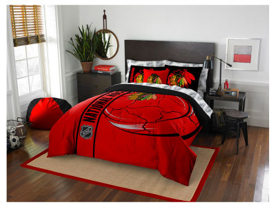 Chicago Blackhawks Full Soft & Cozy Set