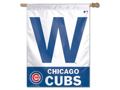 Chicago Cubs 27X37 Vertical Flag