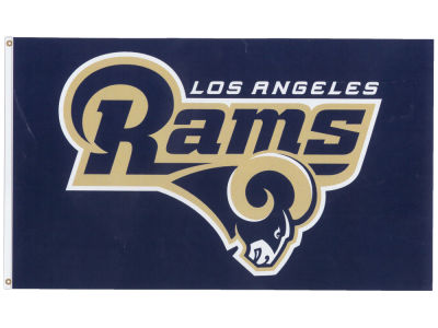 Los Angeles Rams Wincraft 3x5 Deluxe Flag