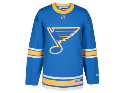 St. Louis Blues Reebok 2017 NHL Men's Premier Winter Classic Jersey